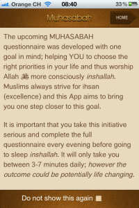 "Islamic/Muslim iPhone app ""Muhasabah"" review - Productive Muslim"