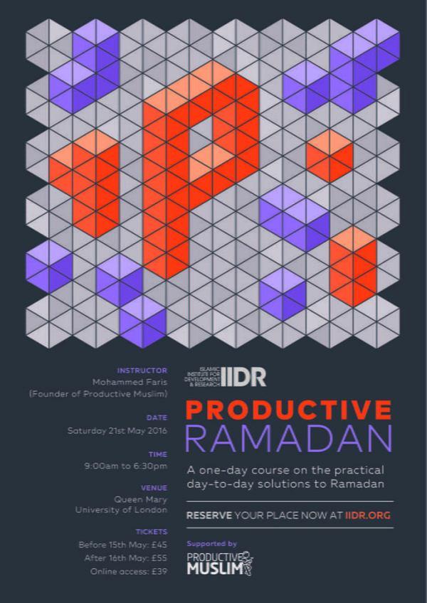 1-Day-ProductiveRamadan-Workshop-London-UK-OnlineLIVEStreaming