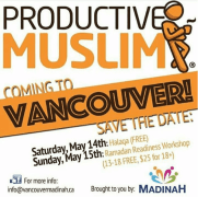 """Ready, Set, Ramadan!"" A 1-Day Productive Ramadan LIVE Workshop – Vancouver, Canada"