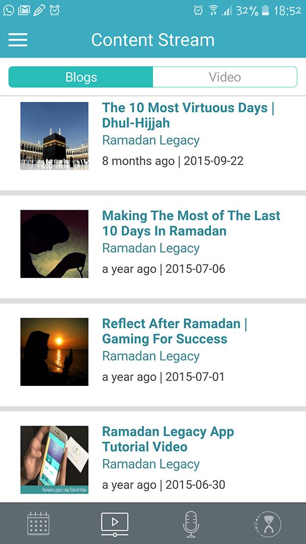 Technology Meets Iman: The New Ramadan Legacy App 2016 | ProductiveMuslim