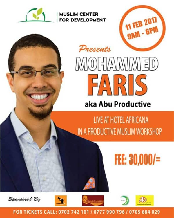 ProductiveMuslim East Africa Tour + Book Launch (February 2017) | ProductiveMuslim