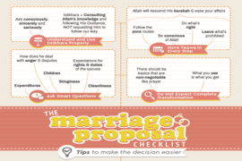 [Doodle of the Month] The Marriage Proposal Checklist