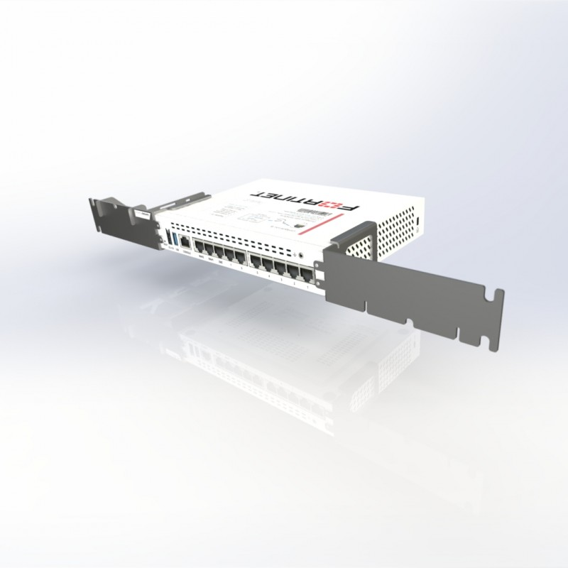 this universal rack mount kit is specially designed to fit with fortigate 60d fortigate 60e fortigate 60f and similar routers