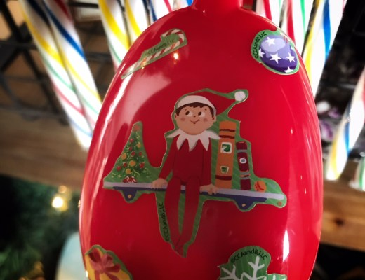 """Elf on the Shelf - Magic Moving Tongs   Do you love doing creative elf ideas that your kids love?!? If so, you need to make """"magical elf tongs"""" so that you can move him when his creative or funny elf ideas sometimes get in the way!"""
