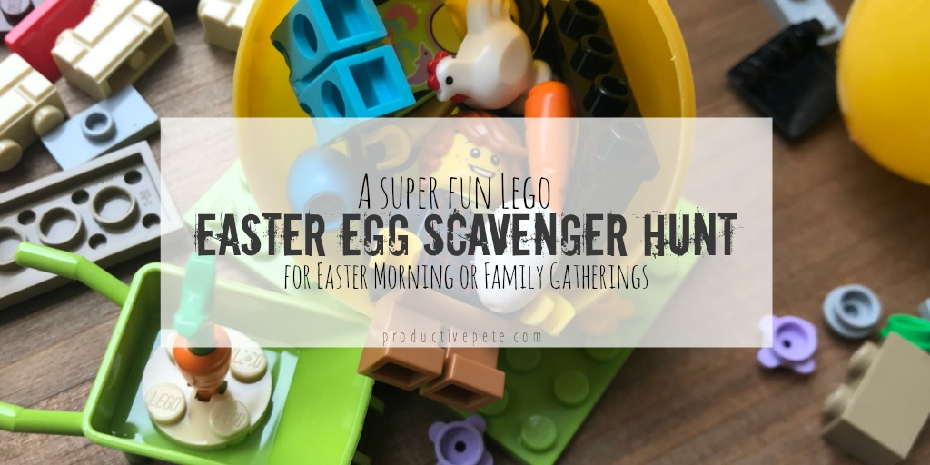 Lego easter egg scavenger hunt productive pete a super fun lego easter egg scavenger hunt for easter morning or family gatherings negle Images