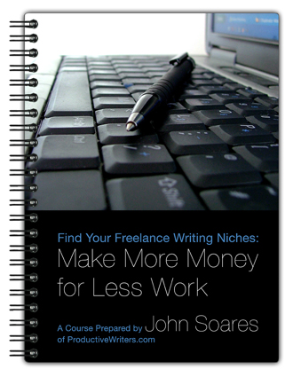 find your lance writing niches productive writers  money for less work how to a lance writing niche the benefits of specialization