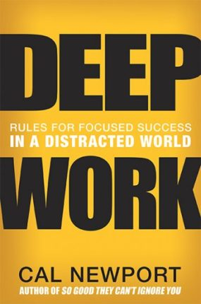 "Applying ""deep work"" principles allows freelance writers and nonfiction authors to get more high-quality work done in less time."