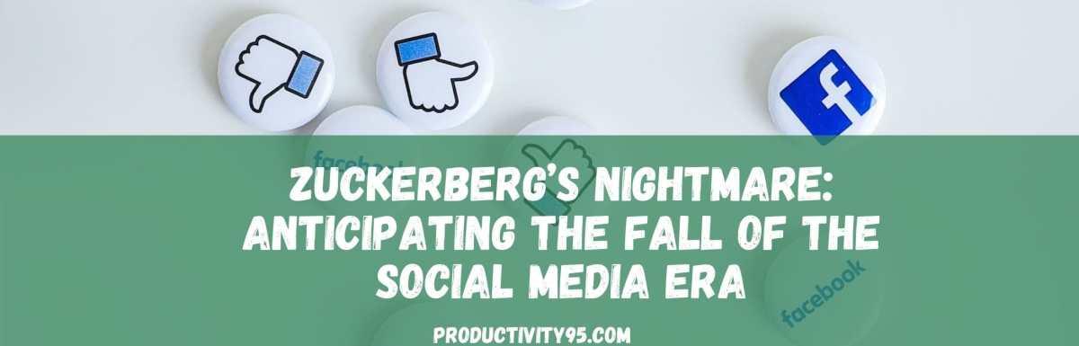 fall of the social media era