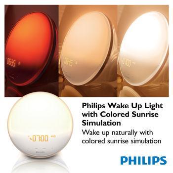 Philips Wake Up Light with Colored Sunrise Simulation