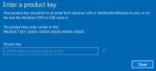 Windows 10 Product Key 2019