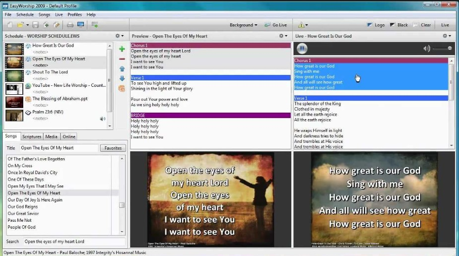 Free worship software for mac