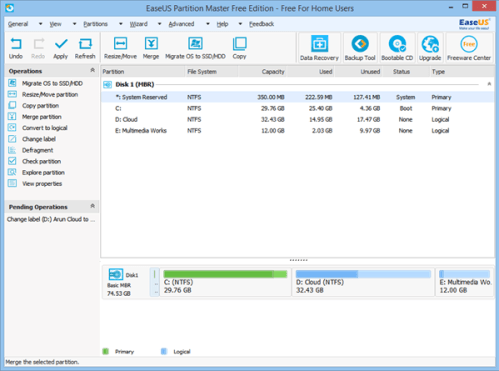 EaseUS Partition Master Key 2020 Free Download