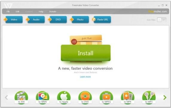 Freemake Video Converter Key Gold Version 4.1.10.80 {Serial Key}