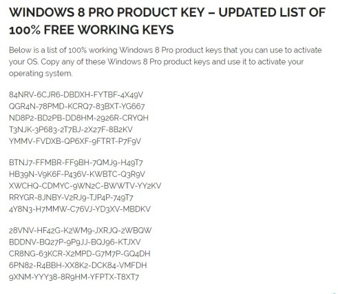 windows 8.1 Product key, Activation Code {UPDATED}