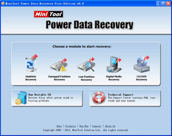 MiniTool Power Data Recovery V8.1 Crack License Key Full Version