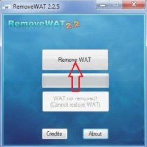RemoveWAT 2.2.7 Free Download For Windows 7