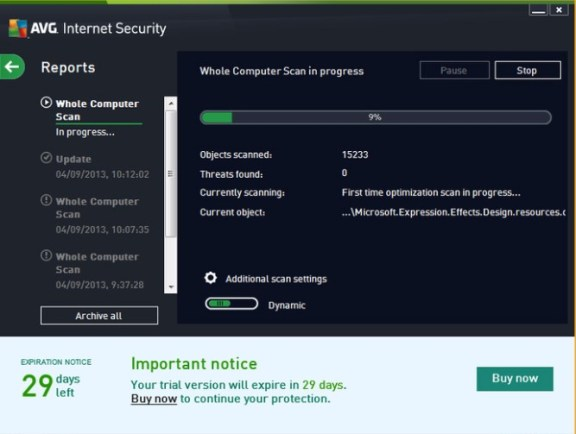 AVG internet security 2019 Serial key Free Download {32/64