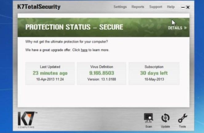 K7 Total Security 2019 Crack 15 1 0332 License Code Full