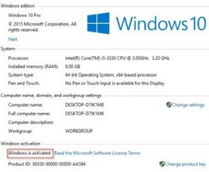 Windows 10 Product keys 100% Working