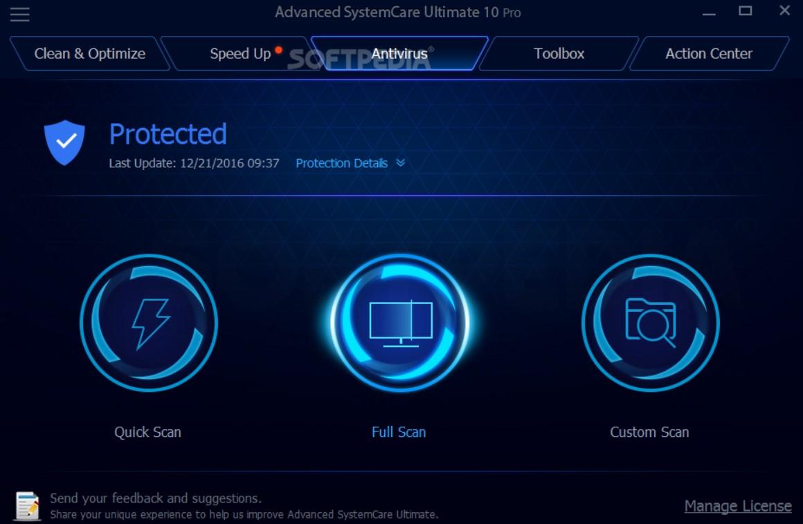 Advanced Systemcare Pro 8.3 Serial Key
