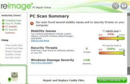 reimage pc repair online license key