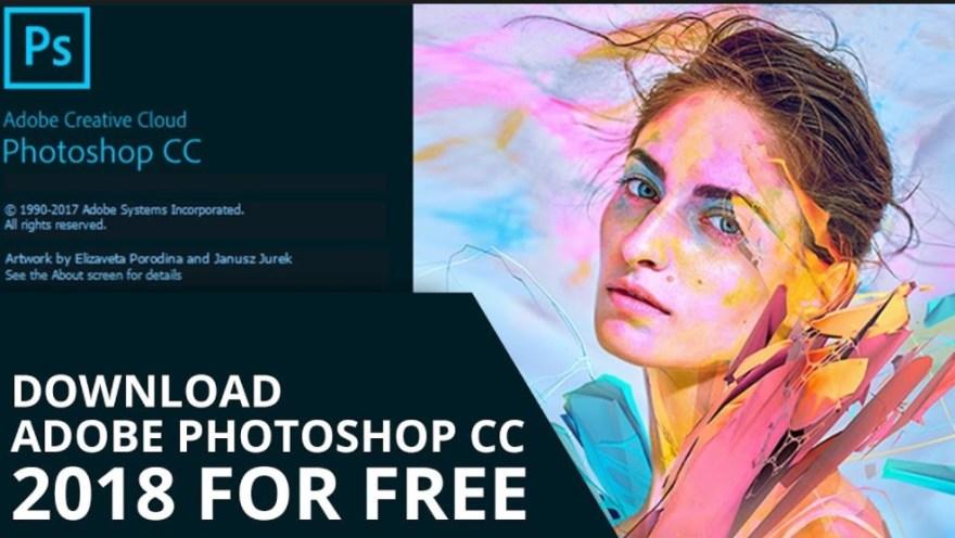 Adobe Photoshop CC 2018 Crack Full 32/64 Bit Latest 2018
