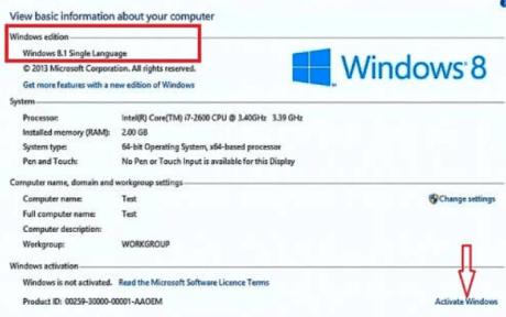Windows 8.1 Product Key Generator Full Cracked 2018