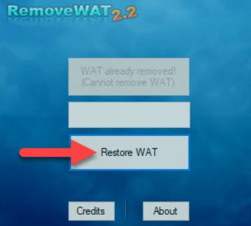 removewat 2.2.7 windows 7 gratuit