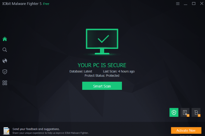 IObit Malware Fighter 7.2.0.5748 Crack With Pro License Key [2019]