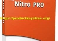Nitro Pro Crack 12.9.0.474 + Serial Key 2019 Latest Free Download