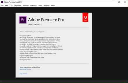 Adobe Premiere Pro CC CC 2019 13.1.3 Crack & License Key Full Free Download