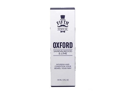 Oxford – Sandalwood & Lime Beard Oil