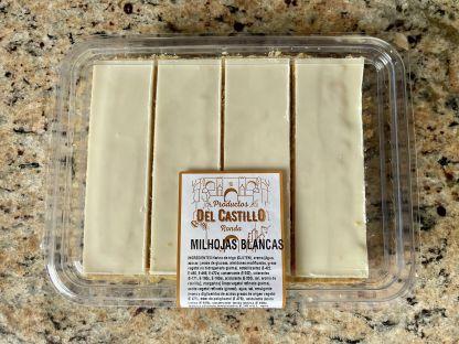 Milhojas Crema con Chocolate Blanco