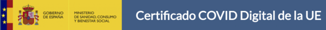 Pasos para conseguir tu certificado COVID 19 de la Unión Europea.