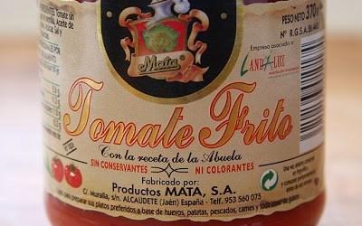 """Solomillo de Cerdo Ibérico con """"Tomate Frito Mata"""" por Restaurante Juanito, Baeza"""
