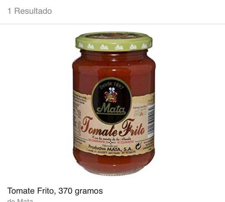 Tomate Mata disponible para pedidos en Amazon Prime Now