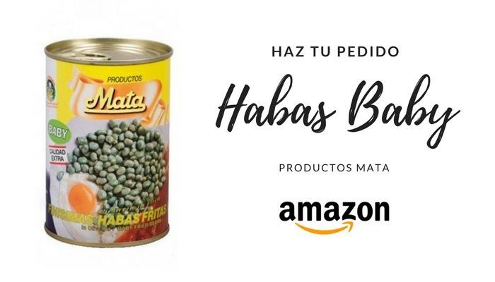 Haz ahora tu pedido de Habas Baby de Productos Mata http://amzn.to/2Euzqva