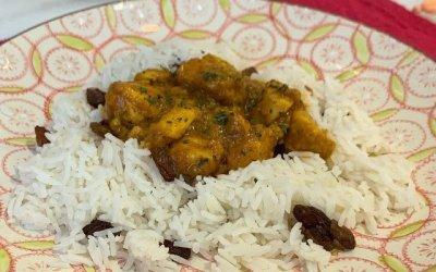 [Receta] Pollo al curry con Tomate Mata