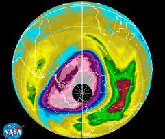 Imagen del ozono. De la web de Qing-Bin Lu