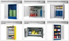 Armarios de seguridad para productos químicos - Pincha para elegir