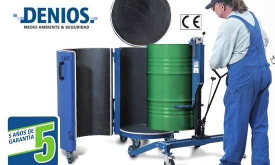Calentamiento de sustancias químicas: Sistema de calefacción móvil