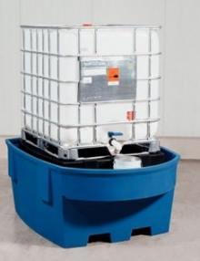 Estación de llenado del contenedor de mil litros: GRG, KTC, IBC