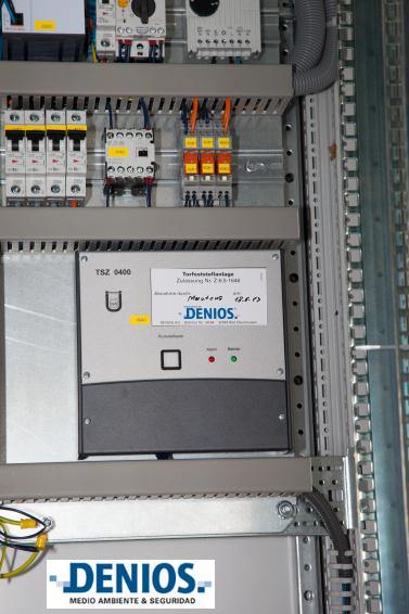 Sistema de seguridad del cuadro de mandos