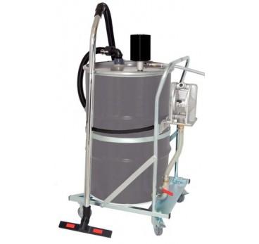 Aspirador de líquidos como por ejemplo para el vaciado de cubetos PompOut