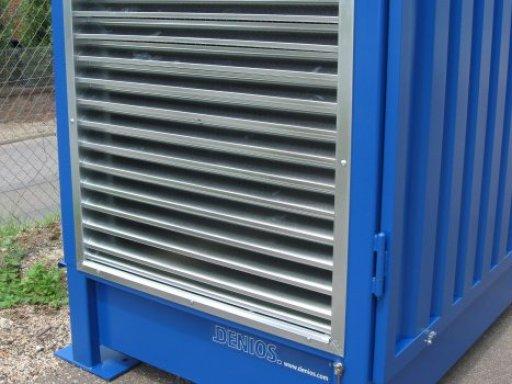 Ventilación natural del almacén
