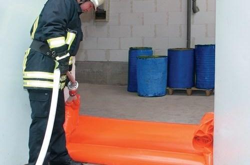 Barreras flexibles de emergencia