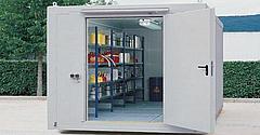 Contenedor para el almacenamiento de materiales peligrosos
