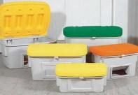 Contenedores para sal y absorbentes