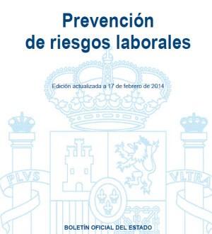 Prevención de riesgos laborales para descargar en el BOE