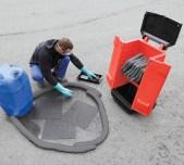 Set de productos absorbentes para limpieza de productos químicos